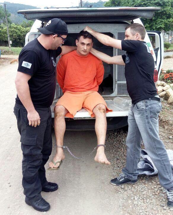 Fugitivo do Presídio Regional de Rio do Sul é recapturado