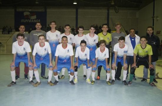 Futsal Sub-15: Ituporanga está entre os oito melhores do Estado