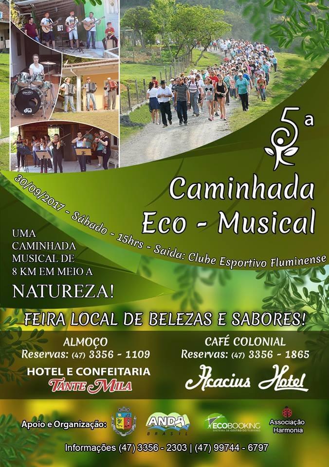 Gastronomia, música e natureza num único evento, em Vidal Ramos
