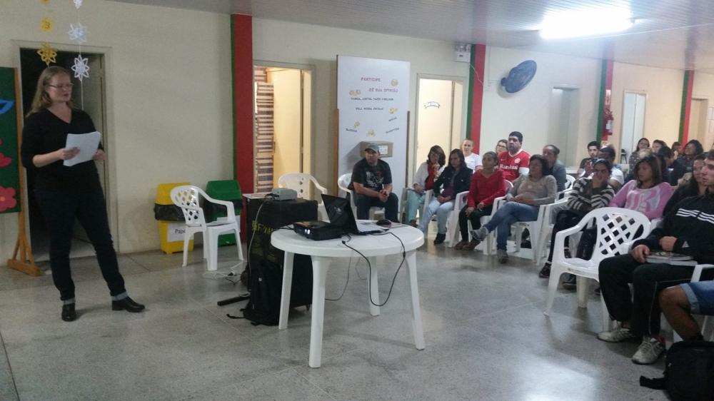 Gerências de Saúde e Educação de Ituporanga promovem palestras sobre a gripe