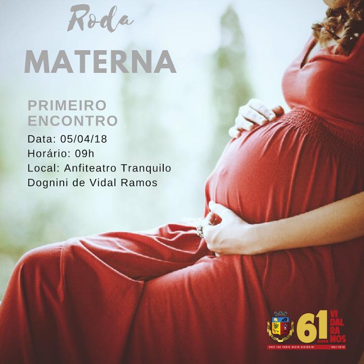Gestantes de Vidal Ramos serão orientadas através do Programa Roda Materna