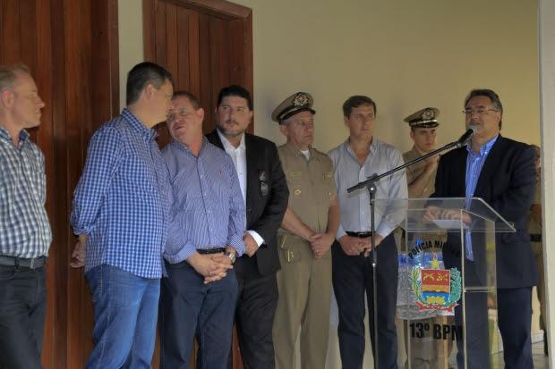 Governador inaugura Central Regional de Emergências no Alto Vale