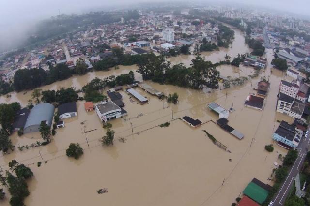 Governo Federal homologa decreto de situação de emergência em Rio do Sul