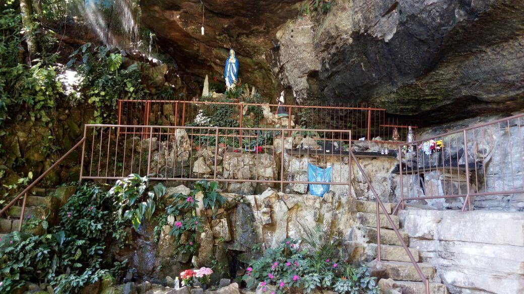 Gruta Nossa Senhora de Lurdes completa 68 anos de fundação em Ituporanga