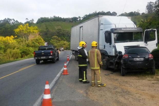 Homem morre em acidente na BR-470 em Ibirama