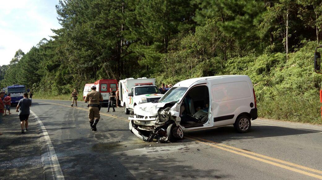 Homem perde a vida em grave acidente na SC-350 em Aurora