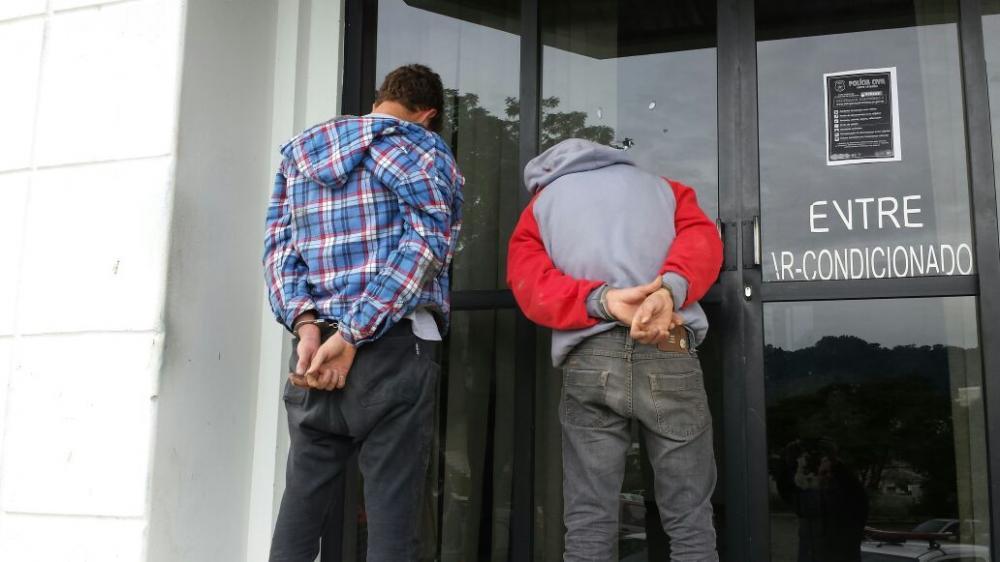 Homens são detidos após perseguição policial em Ituporanga