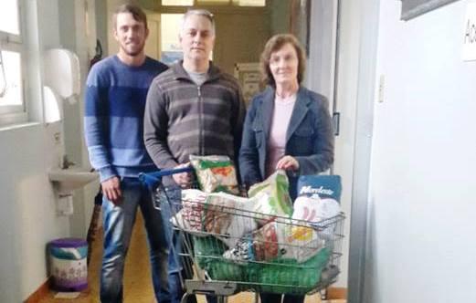 Hospital Bom Jesus recebe doações de alimentos