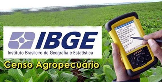 IBGE organiza últimos detalhes para iniciar o Censo Agropecuário 2017