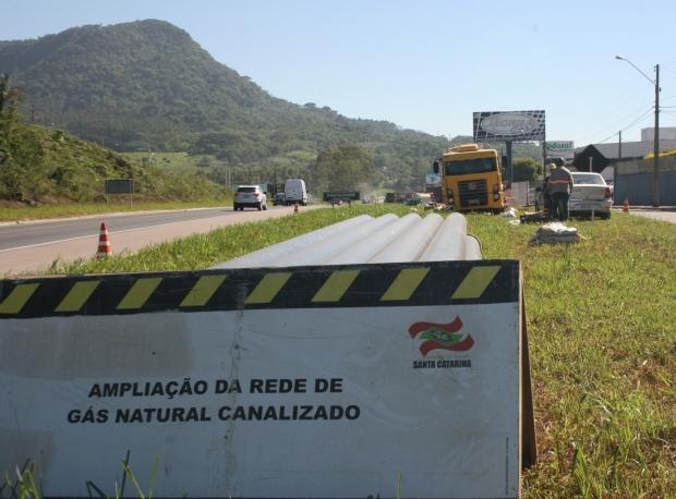 Inaugurado na manhã deste sábado o canal de gás natural em Rio do Sul