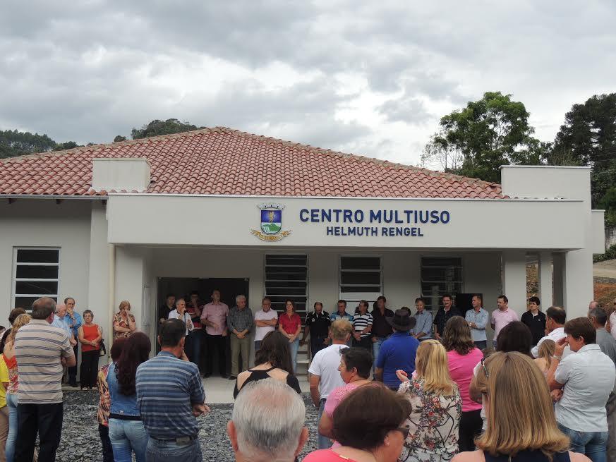 Inaugurado Centro Multiuso Helmuth Rengel, em Ituporanga