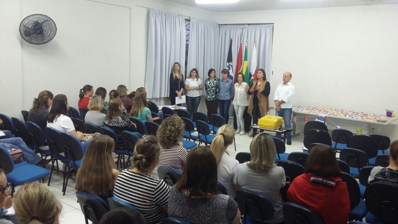 Inicia capacitação municipal do Pacto pela Alfabetização em Ituporanga