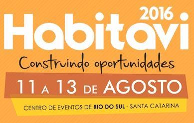 Inicia hoje em Rio do Sul mais uma edição da Feira de Habitação do Alto Vale