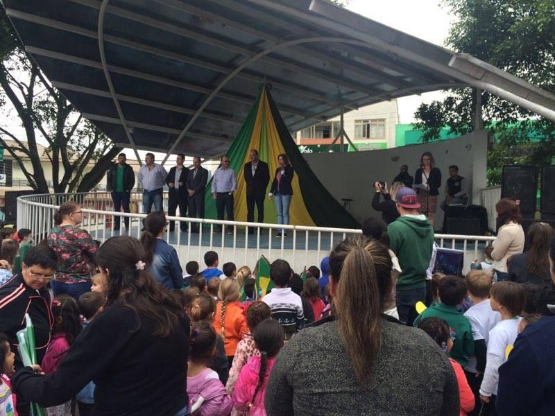 Ituporanga inicia atividades em comemoração á Semana da Pátria