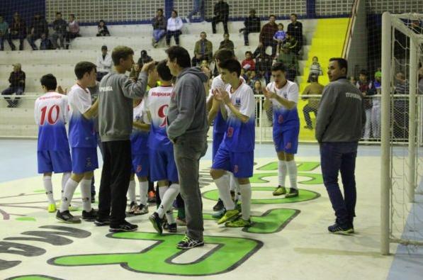 Ituporanga perde a primeira no Estadual de Futsal Sub-15