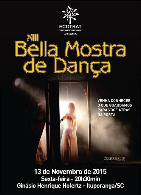 Ituporanga sedia mais uma edição da Bela Mostra de Dança