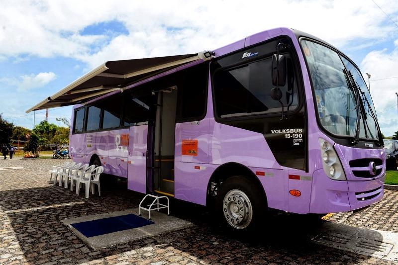 """Ituporanga vai receber o ônibus do programa """"Mulher: Viver Sem Violência"""" do Governo do Estado"""