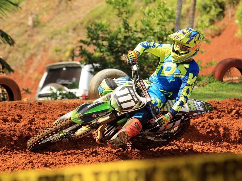 Ituporanguense é Campeão catarinense de Motocross