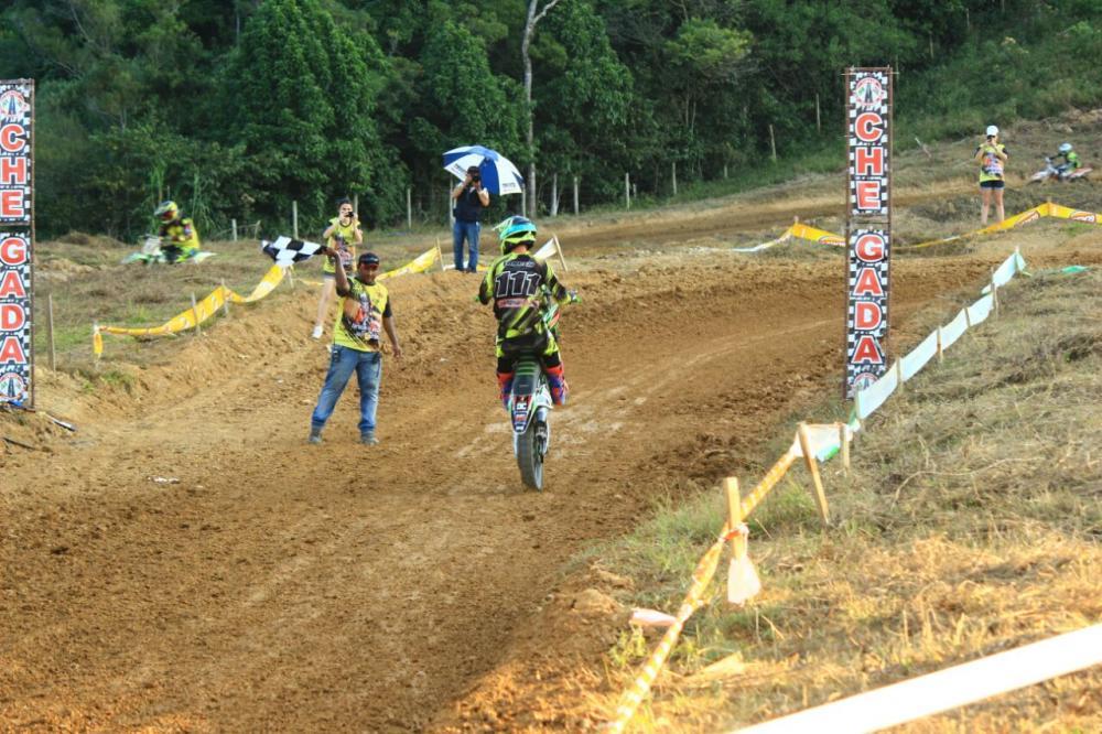 Ituporanguense é campeão em duas categorias na abertura da Copa Vale de Motovelocidade em Lontras