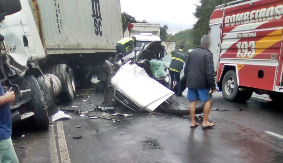 Ituporanguense morre em acidente na BR-470
