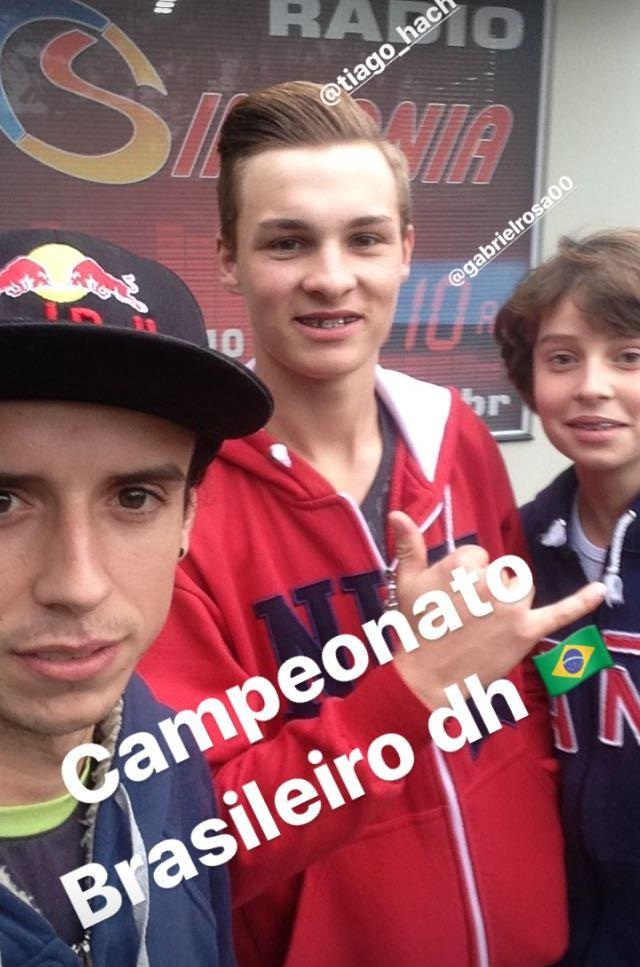 Ituporanguenses disputam em Minas Gerais o Campeonato Brasileiro de Dowhill