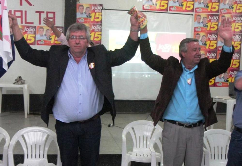 João Schwambach e Bica são eleitos com 56,85% dos votos em Imbuia