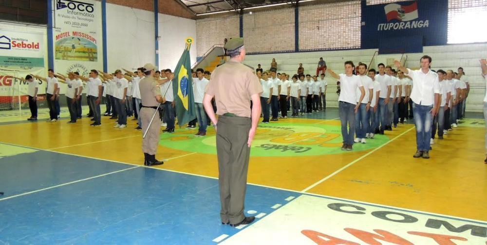 Jovens de Ituporanga receberão certificados de dispensa de incorporação