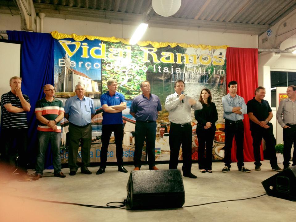 Lançada oficialmente a Doce Festa 2015 em Vidal Ramos
