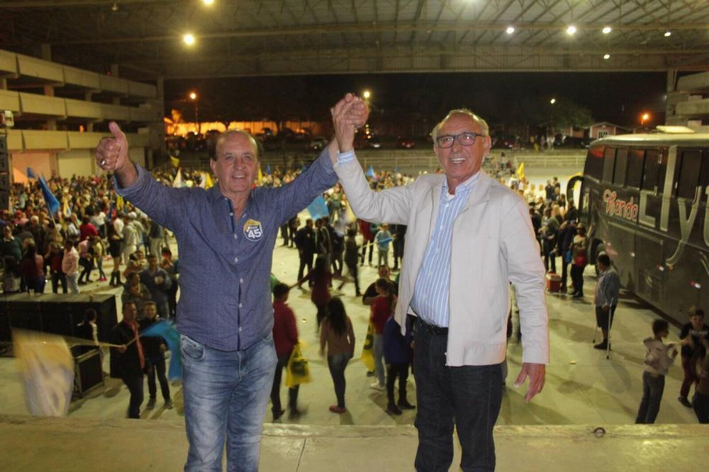Lorinho e Gervásio são eleitos em Ituporanga com 51,51% dos votos válidos
