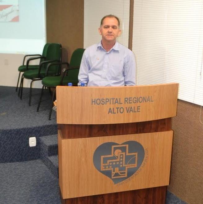Manoel Arisoli Pereira gerente regional da Celesc assumirá a Fusavi em janeiro
