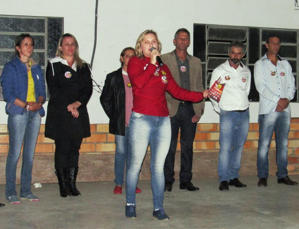 Marli Kammers destaca os projetos como prefeita eleita de Chapadão do Lageado