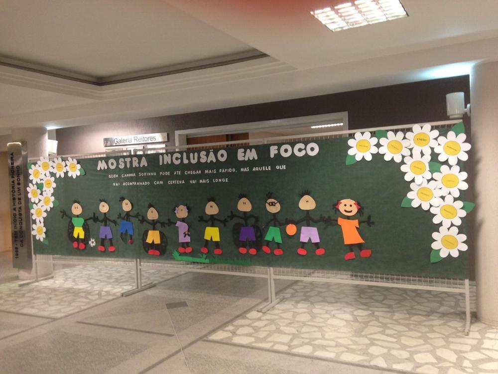 Mostra Inclusão em Foco é realizada na Unidavi em Rio do Sul
