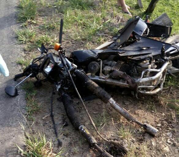 Motociclista de 21 anos morre em acidente na SC-112, em Trombudo Central