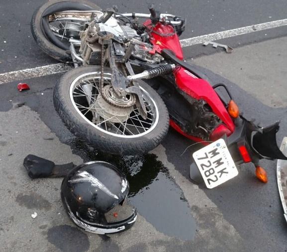 Motociclista morre após acidente com caminhão na BR-470 em Agronômica