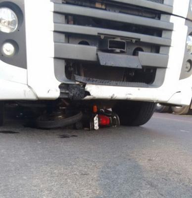 Motociclista morre após acidente na BR-470 em Rio do Sul