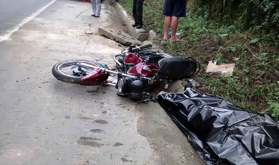 Motociclista morre após acidente na BR-470, em Rio do Sul
