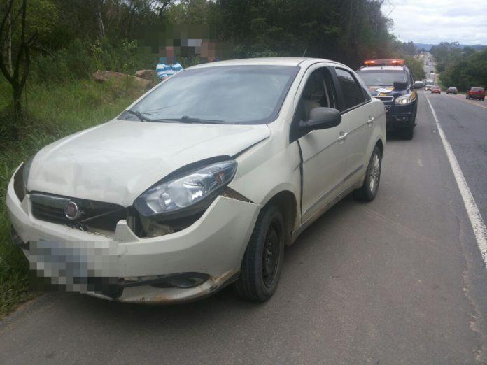 Motorista embriagado é preso após bater em outro veículo na BR-470, em Lontras