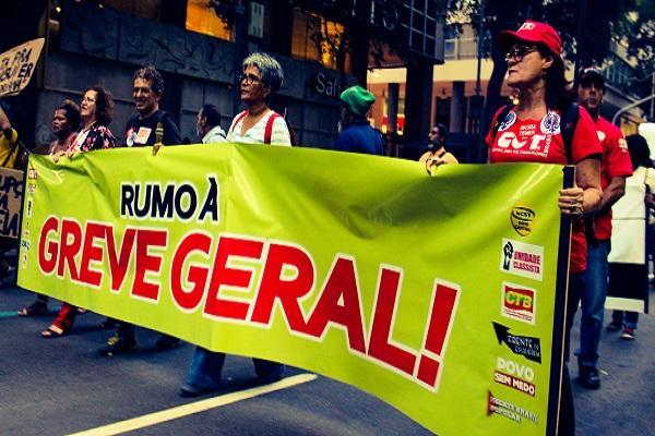 Movimentos sindicais do Alto Vale participam nesta sexta da greve geral contra as reformas trabalhistas e da previdência social