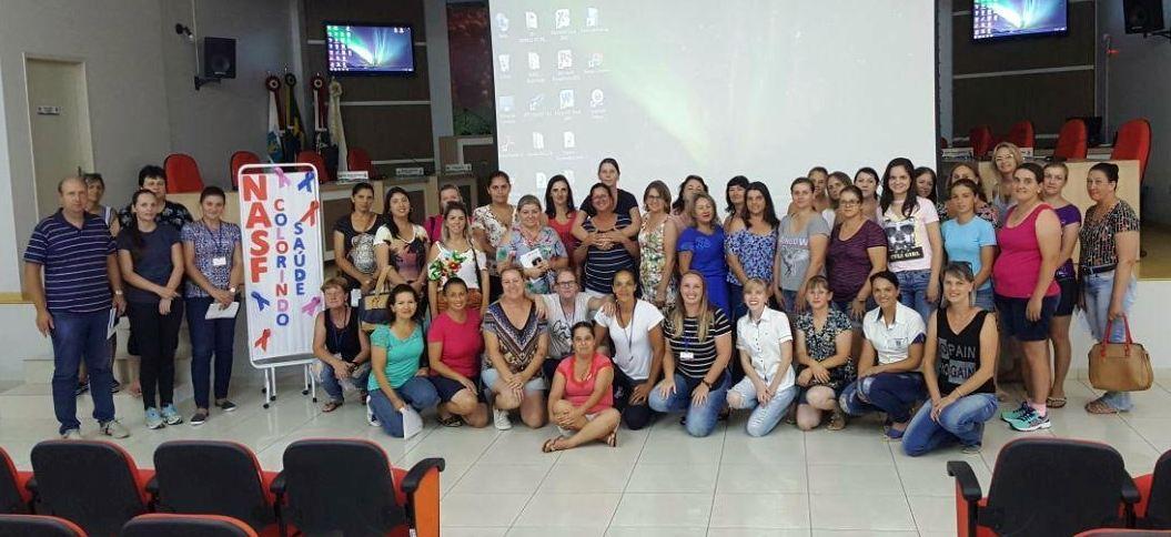 NASF de Ituporanga lança projeto Colorindo Saúde que promove capacitações
