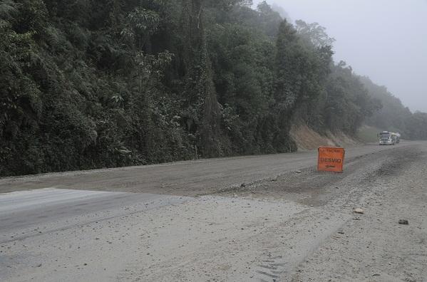 Obras da SC-110 entre Ituporanga e Imbuia devem ser concluídas em dezembro