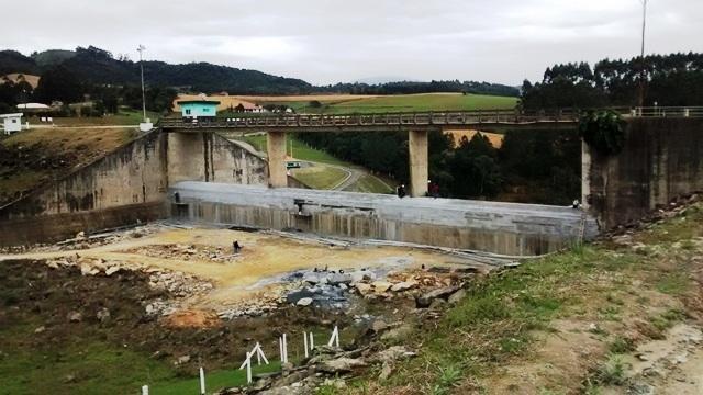 Obras de sobre-elevação nas Barragens de Ituporanga e Taió são concluídas