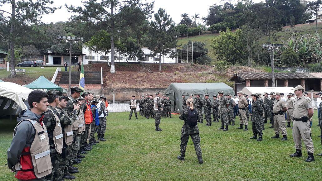 """Operação """"BAHU"""" em Rio do Sul"""