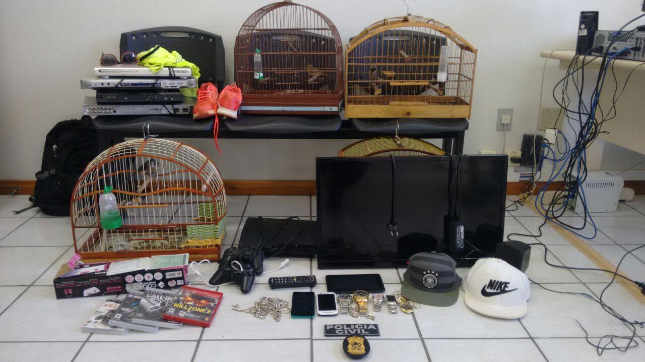 Operação da Polícia Civil cumpre mandados de busca e apreensão em Ituporanga
