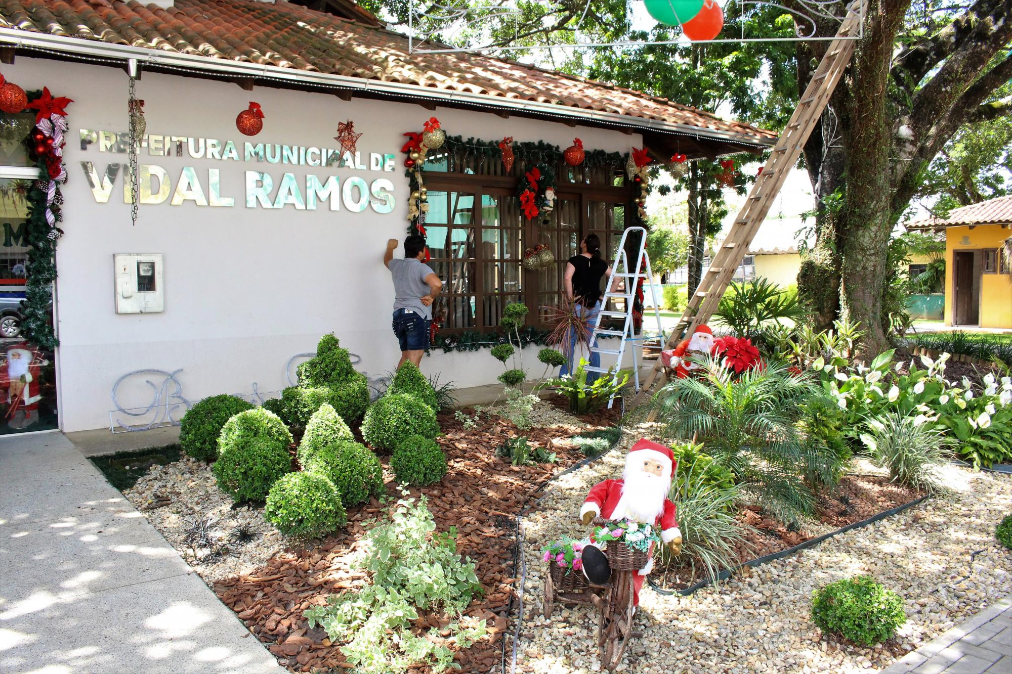 Papai Noel chega em Vidal Ramos neste sábado