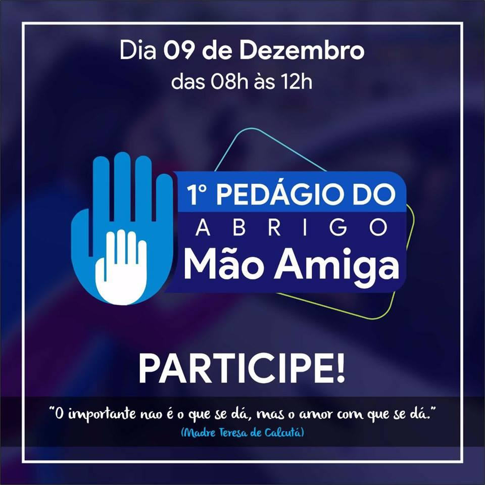 Pedágio Solidário do Abrigo Mão Amiga será realizado no próximo sábado em Ituporanga