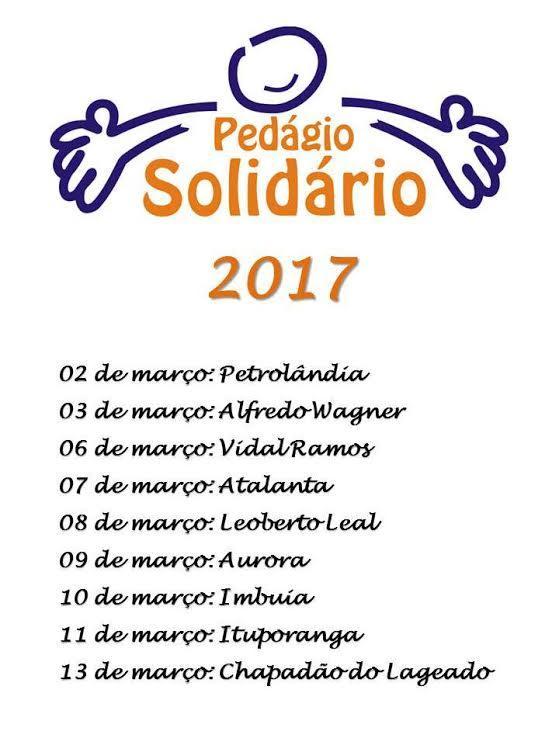 Pedágio Solidário em prol da UTI do Hospital Bom Jesus será realizado hoje em Ituporanga