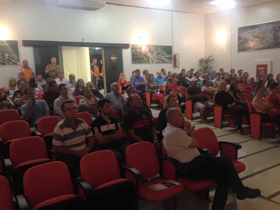 Plano de Contingência de Ituporanga é apresentado pela Defesa Civil