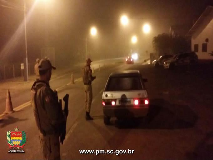 PM desencadeia operações para garantir maior segurança aos municípios do Alto Vale do Itajaí