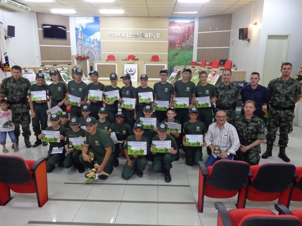 Policia Militar Ambiental forma 5ª turma de Protetores Ambientais em Ituporanga