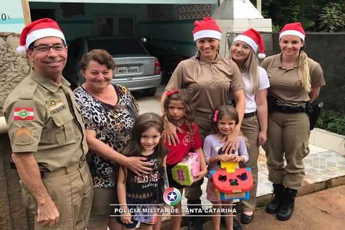 Polícia Militar realiza mais uma edição do Natal Solidário em Rio do Sul